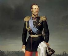 Emperor Alexander II, full-dress portrait (image from portrets.ru)